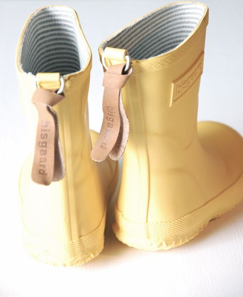 . sweet rubber boot by the Danish brand bisgaard