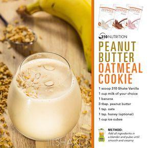 JWOWW - 310 nutrition peanut butter oatmeal cookie