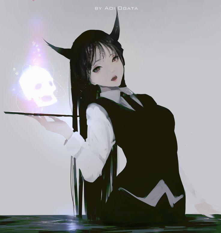 random paint, Aoi Ogata on ArtStation at https://www.artstation.com/artwork/DXdrn