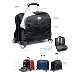 Branded Morpheus Overnight Compu-Trolley | Corporate Logo Morpheus Overnight Compu-Trolley | Corporate Gifts