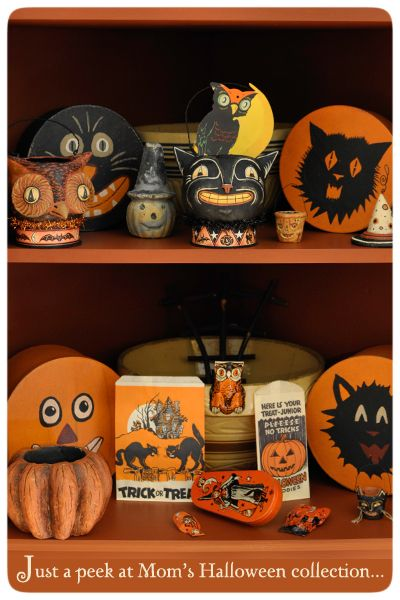 johanna parker designs love vintage halloween - Halloween Items