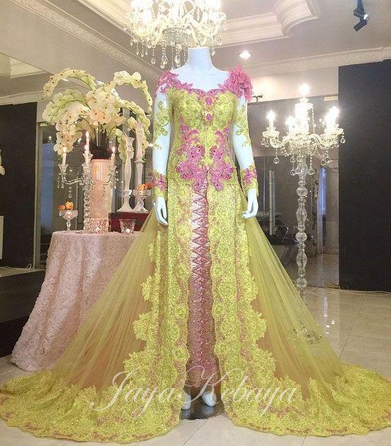 wedding dress kebaya modern 2016