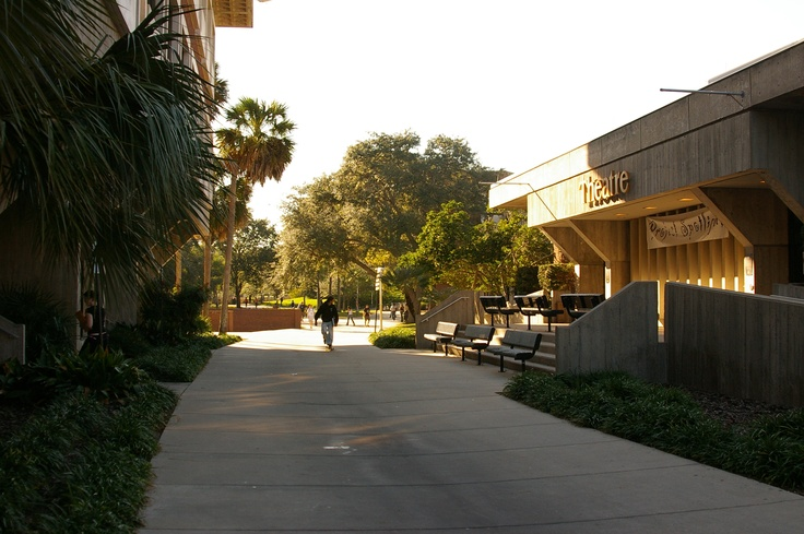 Theatre building on the UCF Campus University of central