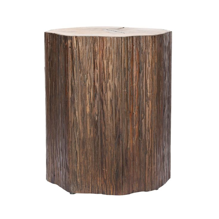 Stump Inspired Bayur And Tamarind Wood Stool. Product: End  TableConstruction Material: Bayur And Tamarind Wood