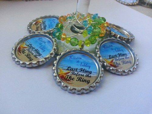 Personalized wine theme parties, pick your backgrounds and sayings..Wine Charms and More