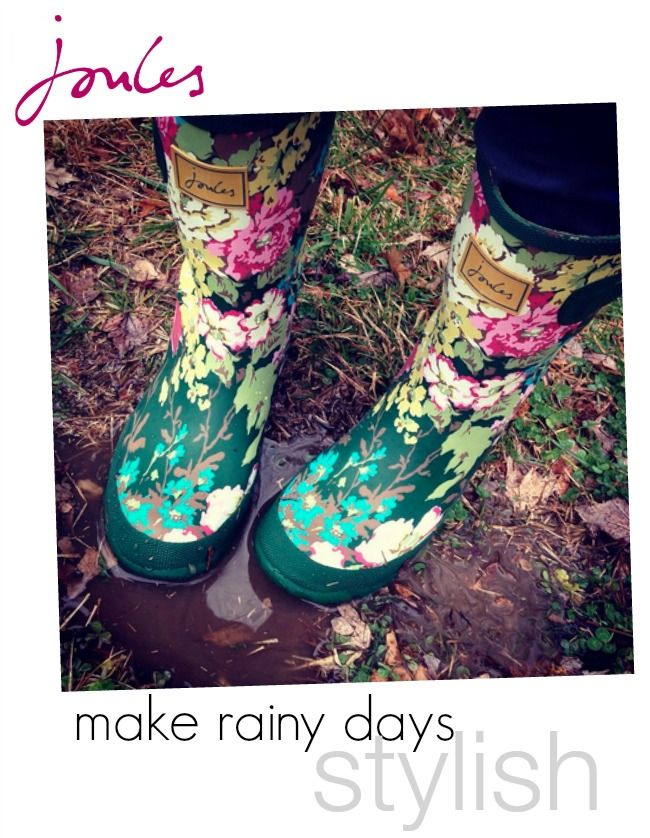British clothing brand @joulesclothing known for beautiful prints and florals and their insanely stylish wellies/rainboots. See more: http://verybusymamablog.com/2015/02/joules-clothing-embrace-british-style.html