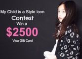 $2500 VISA Gift Card Contest  Open to: United States Ending on: 03/14/2017 Enter for a chance to win a $2500 VISA Gift Card. Is your child or grandchild a Style Icon  at least in your house? Take a photo of them in their best outfit and upload it for a chance to win a $2500 VISA Gift Card. Enter []  Enter the $2500 VISA Gift Card Contest on Giveaway Promote.