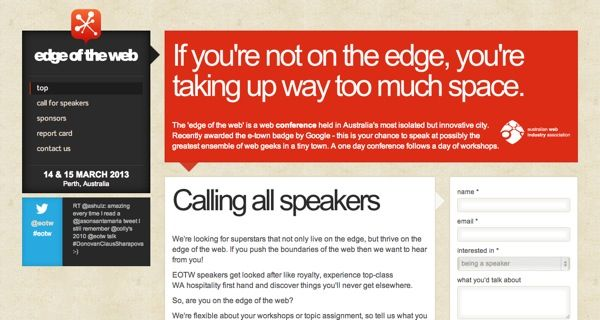 http://eotw.com.au/ 24 Awesome Web Design Conferences You Should Know