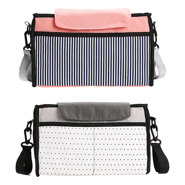 Baby Stroller Accessories Baby Diaper Bag Storage Bags Large Capacity Mummy Bag Multi-function Nappy Bags 32cm* 20cm* 8cm