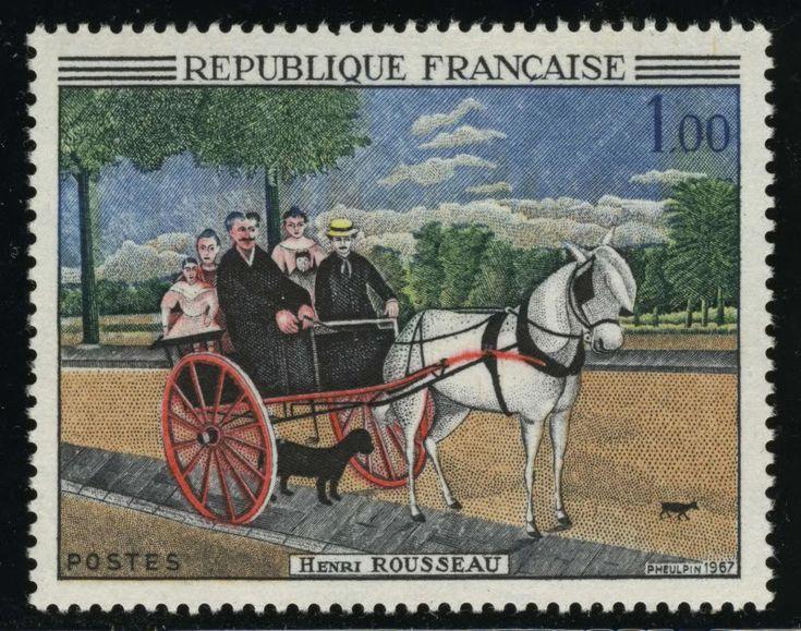 Resultado de imagem para SELO DE Henri Rousseau