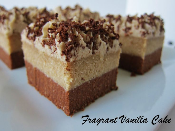 Tiramisu Brownies (Raw)