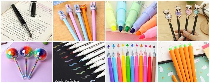 Aliexpress: długopisy i mazaki