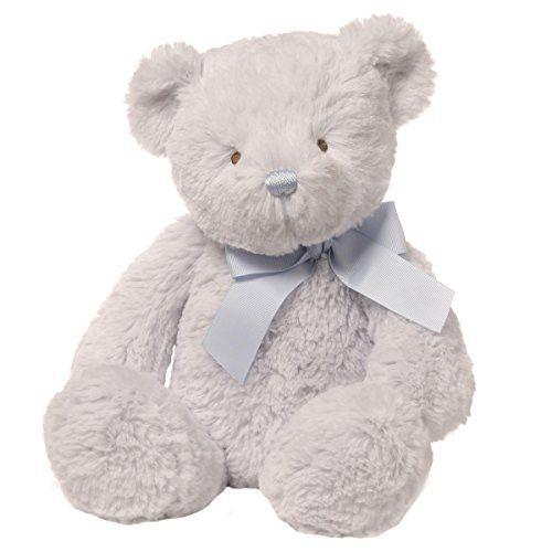 Gund Baby Peyton Stuffed Teddy Bear Blue