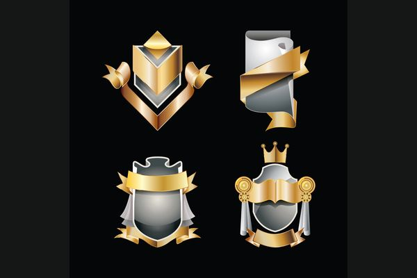 4 Vector Of Labels With Gold Elements