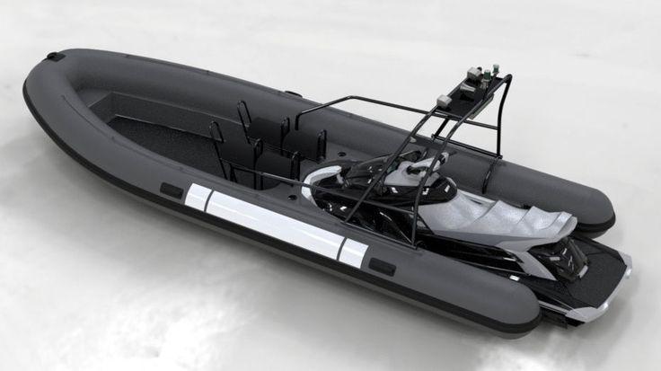 RIB search and rescue boat / jet-ski propelled PRO 676 Sealver