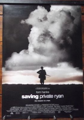 Saving Private Ryan- Original One Sheet Poster. Such a powerful image and available now. £25.00