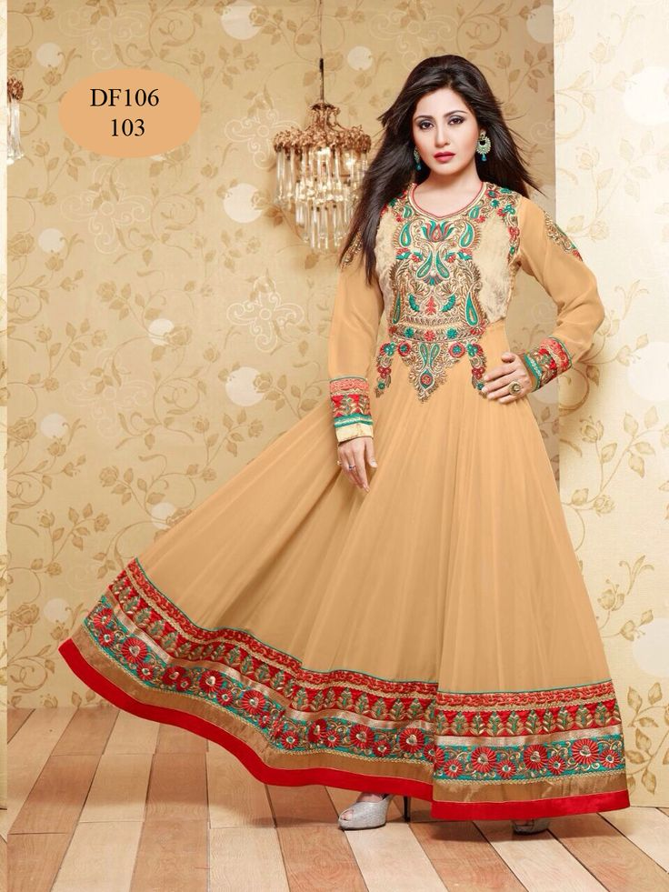 Latest Floor Touch Rimi Sen Chiku Salwar Suits  #salwarsuits