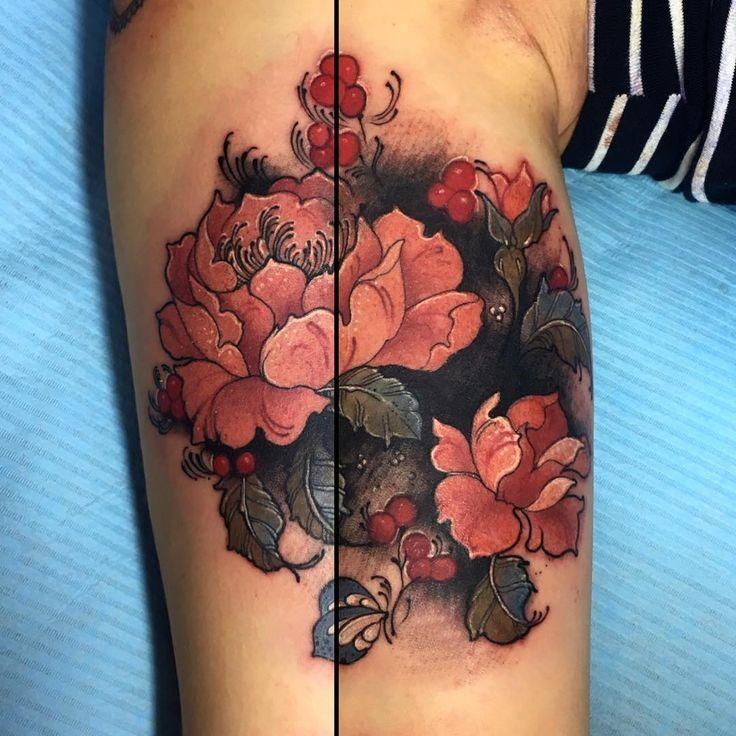 Laura ae taylor from sang bleu london tattoo studio for Sang bleu tattoo