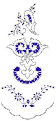 Cutwork Lace/Floral Embroidery Designs
