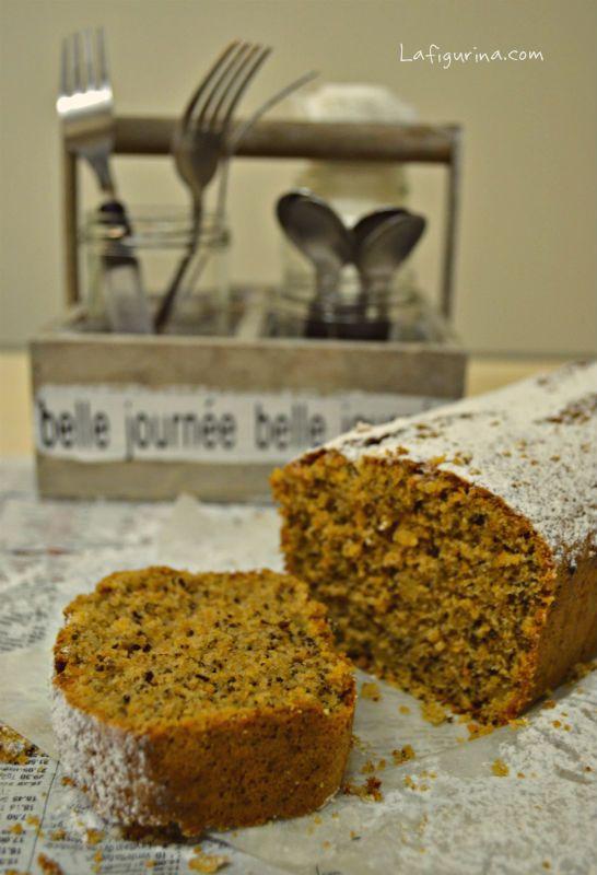 Plumcake di carote e noci http://www.lafigurina.com/2014/03/plumcake-di-carote-e-noci/