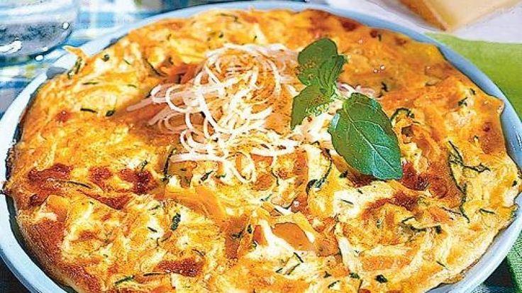 Curry-Käse-Omelett