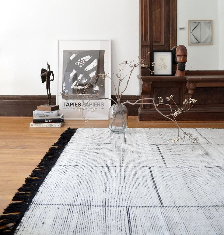A simple, yet striking hand-woven rug with nuanced details defined by a contrast of textures. With respect for the interplay between materials, this rug uses the interaction between color and texture to create a floor covering masterpiece with strength and warmth. Each rug is hand-knotted from 50% wool and 50% viscose. The viscose gives the …