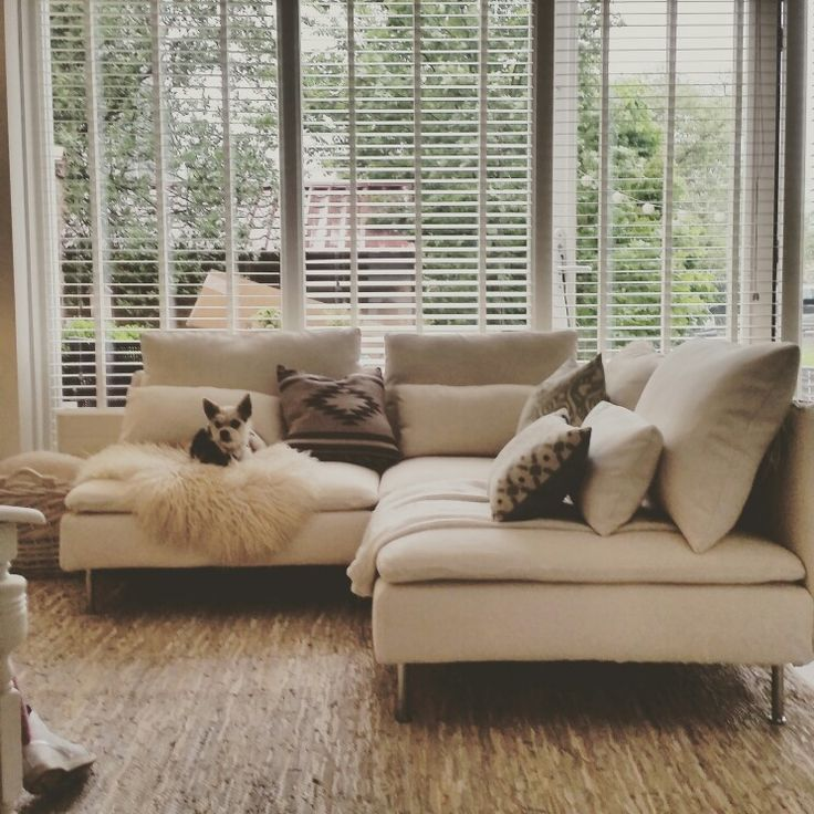 #Soderhamn sofa by Ikea. Super comfy and stylish. Fits beautifully in my 44m2 appartment. Small livingroom.