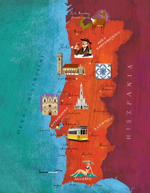 Portugal map, via lh3.googleusercontent.com