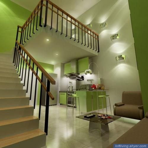 Another rendering of Condo Unit For Sale in Eton Greenbelt Residences, Makati City, in the Philippines