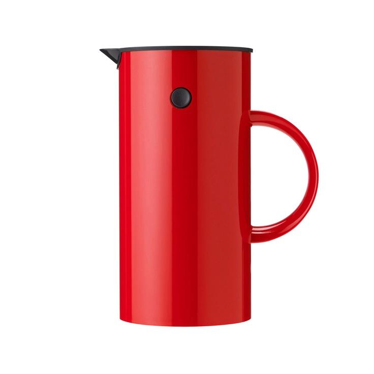 Stelton Pressokanna. Hej då snabbkaffe! Nu dricker vi gott kaffe i båten också. Räcker till när vännerna kommer över också.