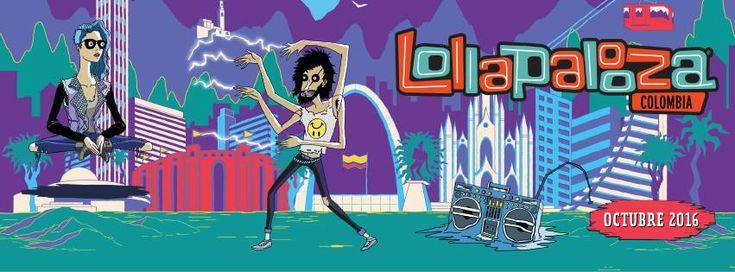 Festival LOLLAPALOOZA se realizará por primera vez en Colombia
