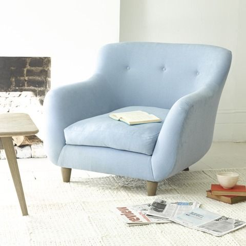 MONTY ARMCHAIR We asked 50,000 of you Loafers what we should call this amazing armchair and it's sofa companion. And Monty was the winner hands down. It was being British, The Full Package and super cuddly (like loads of your kids) that did it. Not to mention our sofa maker Paul's dog is a St Bernard called Monty. It was meant to be.