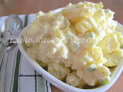 "Southern Potato Salad Recipe ""Hand me the ""Dukes"" Mayonnaise ! ....there is nothing that even compares to this delicious dish !!"""