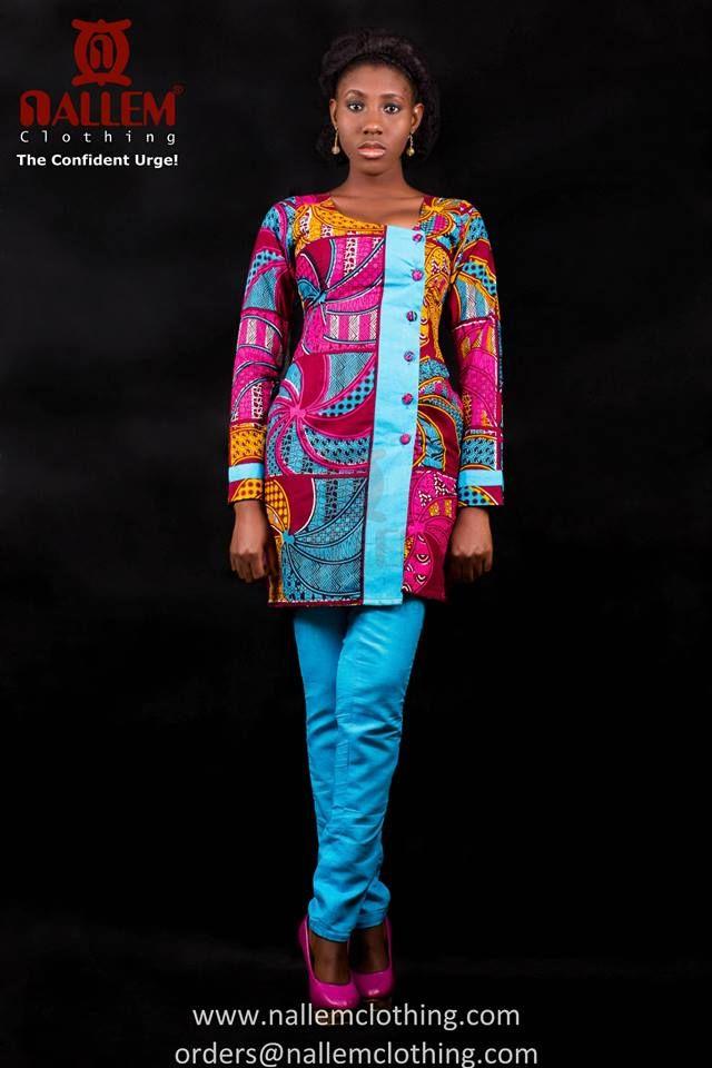 Nallem Clothing Ghana Brooklynfashionweek Africanprints Kente Ankara Africanstyle