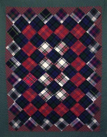 217 best Quilts - Plaid Men's Shirts images on Pinterest | Shirt ... : mens quilts - Adamdwight.com