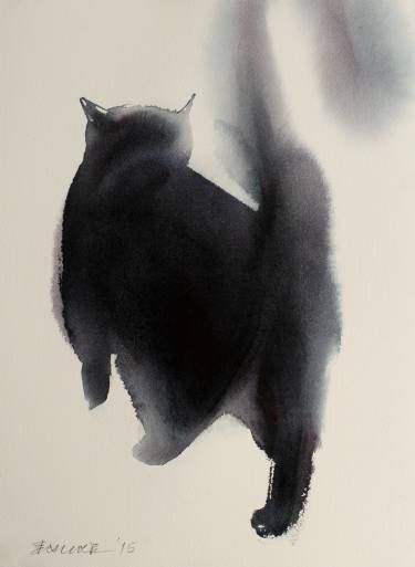 """Saatchi Art Artist Endre Penovác; Painting, """"Going Away"""" #art"""