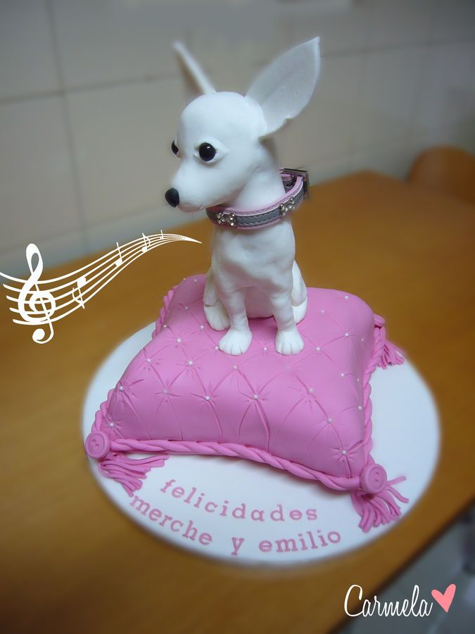 17 Best Images About Dog Cakes On Pinterest Chihuahuas