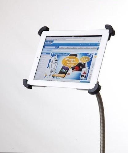 Sir James car iPad Autohalterung mit Edelstahl Schwanenhals Halter