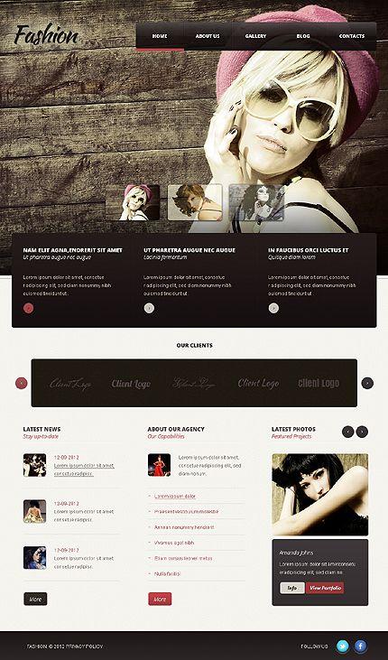 Fashion Models WordPress Themes by Astra