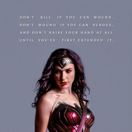 Words of Wisdom from Wonder Woman