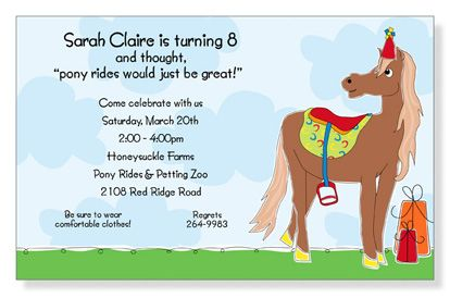 Free My Little Pony Invitations with great invitations layout