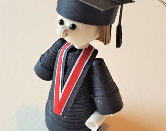 Graduate Ornament, Graduation Gift, Customizable Graduation Present, High School Graduation