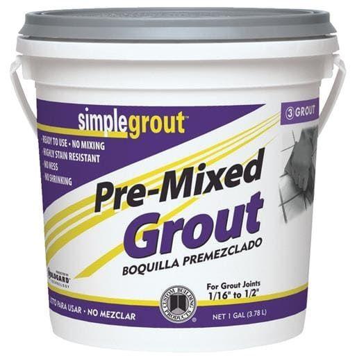 Custom Building Prod. Gl Alabastr Premix Grout PMG3331-2 Unit: Each, Brown sandstone