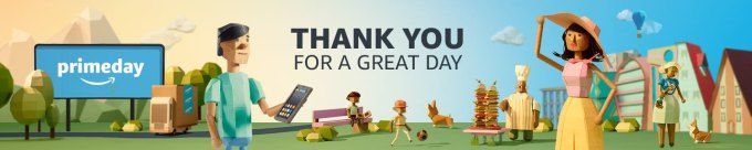 Amazons Prime Day was the biggest sales day in its history up 60% on 2016 led by the Echo