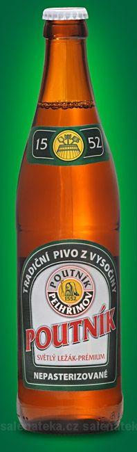 VINOTÉKA | PIVOTÉKA | POUTNÍK pivo světlé 12° 0,5l