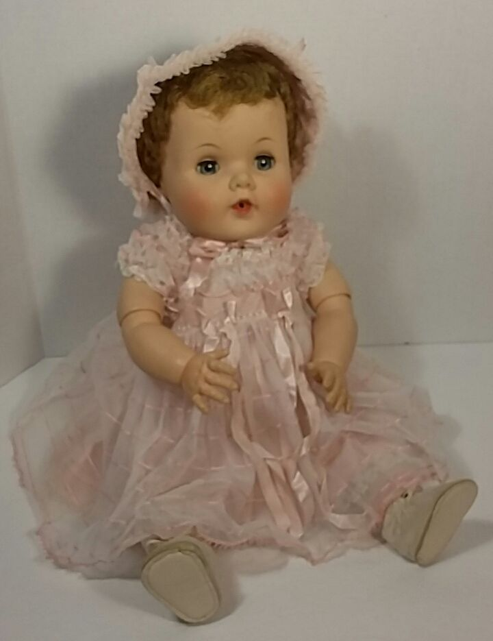 "Vintage American Character 1950's Toodles Doll Original Dress 22"" Vinyl Jointed"