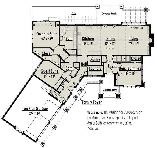 Superb House Plan 7806 00003   Basement Plan: 2,221 Square Feet, 2 3 Bedrooms, 2  Bathrooms
