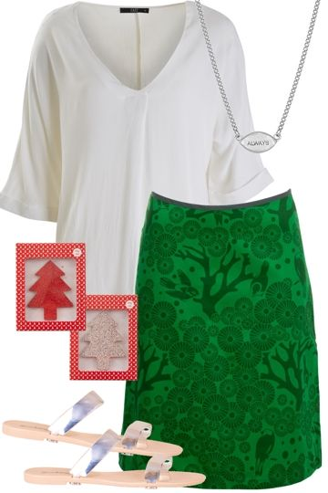 Mistletoe Outfit includes Fate, Essaye, and Freckleberry at Birdsnest Women's Clothing