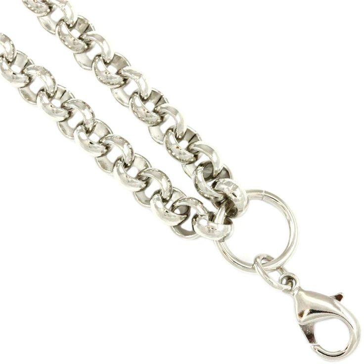 South Hill Designs Silver Rolo Chain 18-21: 26.00