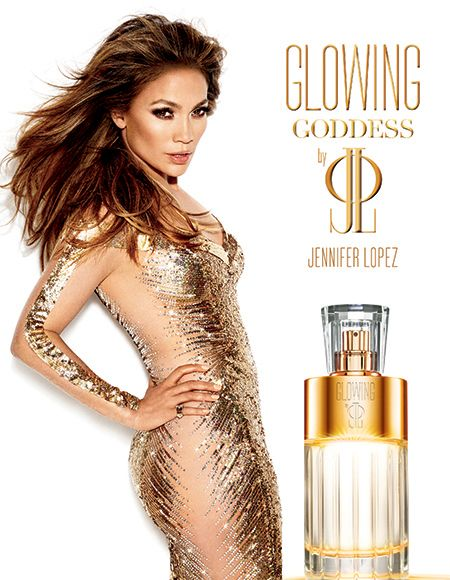 Glowing Goddess Jennifer Lopez perfume - a new fragrance for women 2014